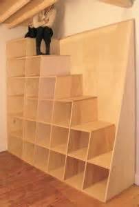 Inexpensive Loft Bed Plans by Escalier Echelle Espace Restreint Pour Mezzanine