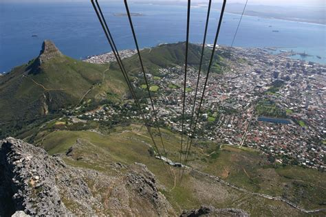 panoramio photo of table mountain cable car cape town