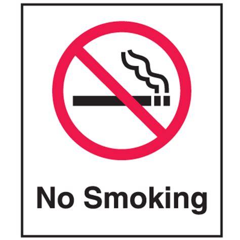 no smoking sign graphics no smoking signs 6 quot x7 quot w graphic seton