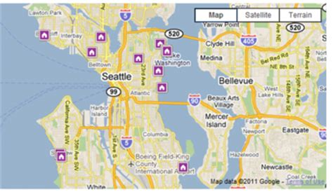 seattle vicinity map map of seattle area map3