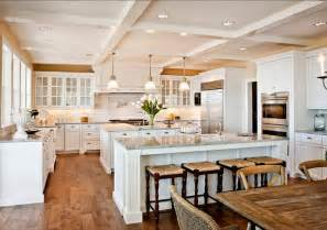 2 Island Kitchen Family Home With Fabulous White Kitchen Home Bunch Interior Design Ideas