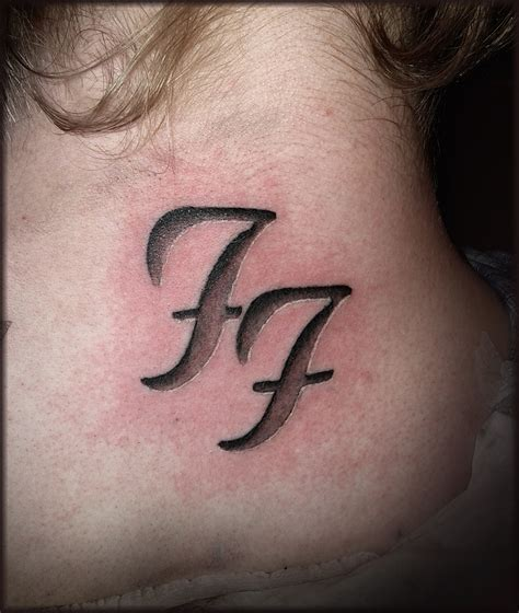 foo fighters tattoo foo fighters i thought about this on the