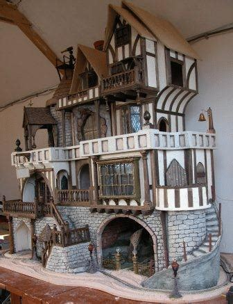 making dolls house miniatures the labyrinth constructing and decorating a fantasy tudor dolls house tudor projects dolls