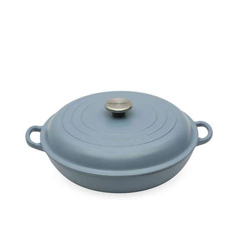 le creuset buffet casserole 30cm 3 2l mineral blue
