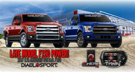 2017 ford f150 2 7l 5 0l now supported diablosport