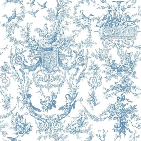 classic toile wallpaper york wallcoverings old world toile wallpaper at4241 the