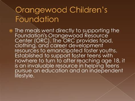 rmc youth outreach with the orangewood children s foundation