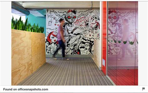 creative wall murals 11 custom office wall murals that will make you spill your