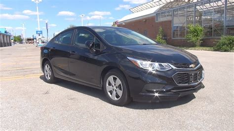 and black ls 2017 chevrolet cruze sedan ls mosaic black