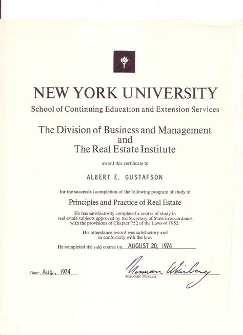 Mba Certificate Ny by Websitemediaget