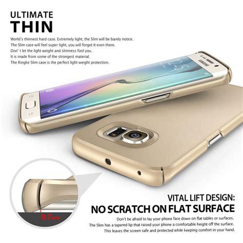 Rearth Ringke Max Samsung Galaxy S6 Flat Dual Layer Original rearth ringke slim samsung galaxy s6 edge royal gold