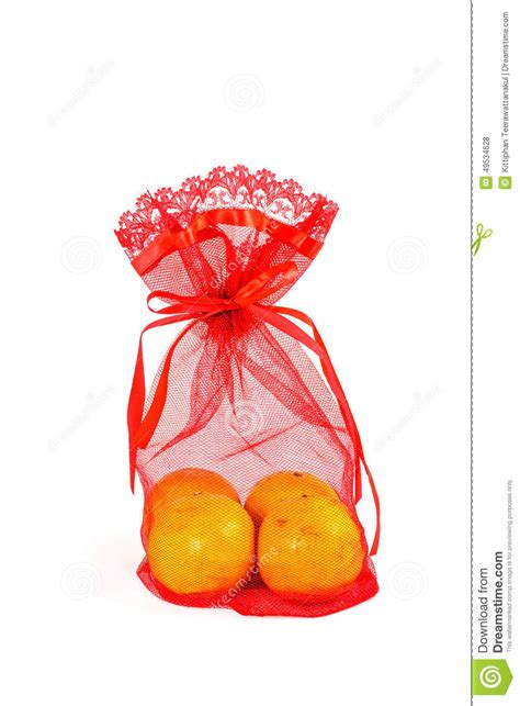 new year orange bag singapore mandarin orange and net bag stock photo image 49534628