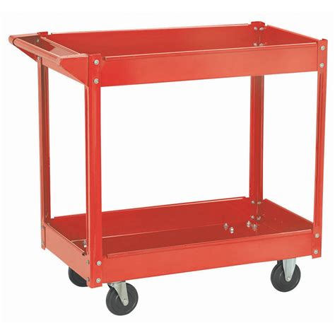 harbor freight shelving steel service cart 16 quot x 30 quot