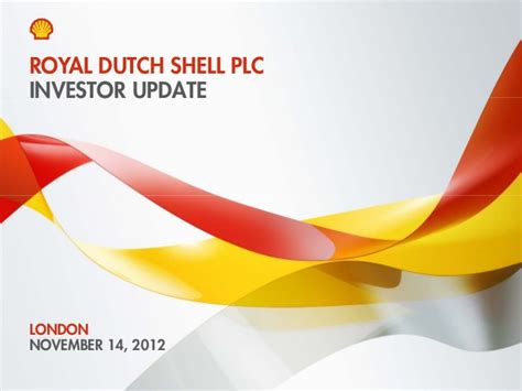 2012 Management Day London New York Global Gas Royal Shell Ppt