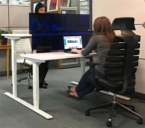 adjustable standing desk available at arnold s office