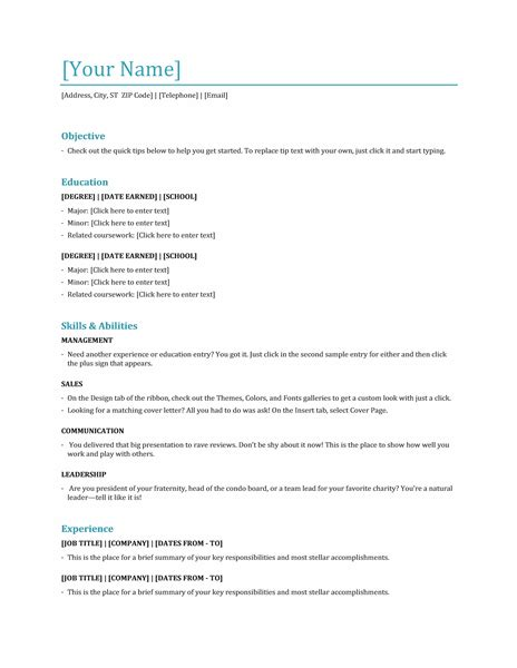 microsoft office 365 sle resume templates functional resume template word