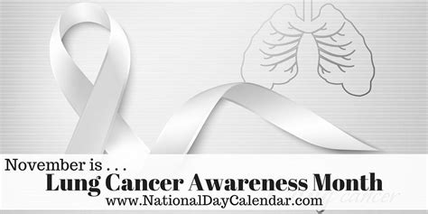 lung cancer awareness month image gallery lung cancer awareness month 2016