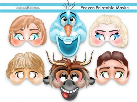 printable mask frozen 308 best thema carnaval images on pinterest