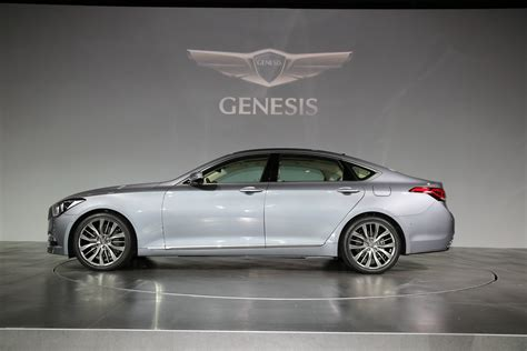 Hyundai Luxury Models by All New 2015 Hyundai Genesis Sedan Pictures And Details