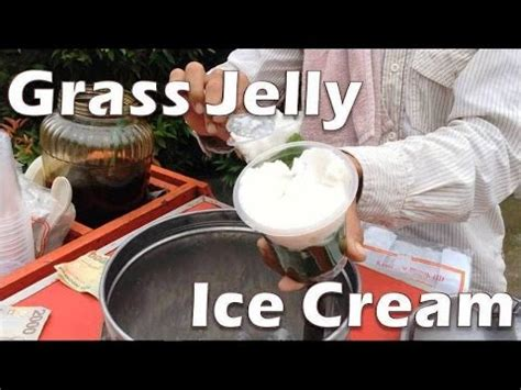 Freezer Es Krim Bandung drink bandung grass jelly