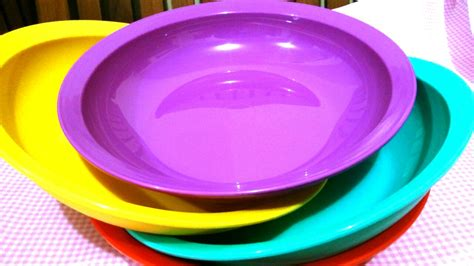 Tupperware Luncheon Plate Piring jual tupperware luncheon plate piring rainbow