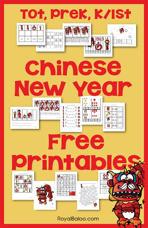 new year literacy activities for preschool new year printable packs for tot preschool