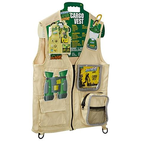 Backyard Safari Cargo Vest by Backyard Safari Cargo Vest Kidztoyzone