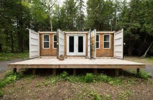 355 sq ft off grid shipping container cabin for sale