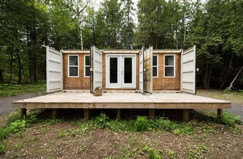 shipping container cottage 355 sq ft grid shipping container cabin for sale