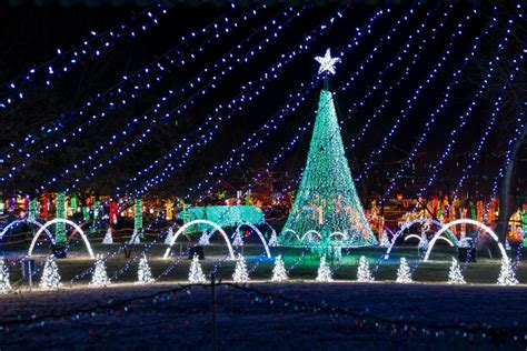 17 best christmas light displays in oklahoma 2016
