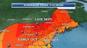 when is peak fall foliage around new necn