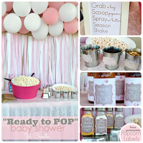 ready to pop themed baby shower baby shower ready to pop u create