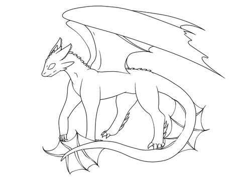 baby night fury dragon coloring pages pictures to pin on