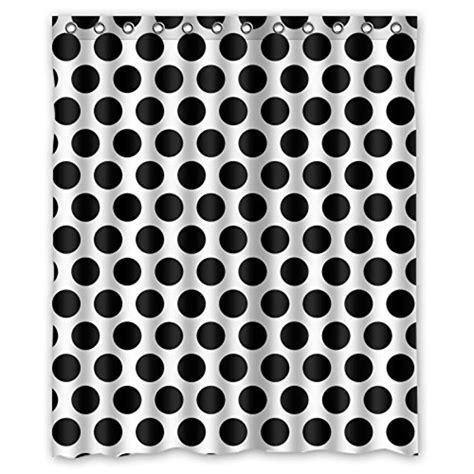 black polka dot shower curtain polka dot shower curtain webnuggetz com