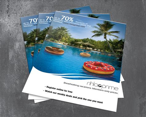 flyer design dubai luxury hotels flyers on behance