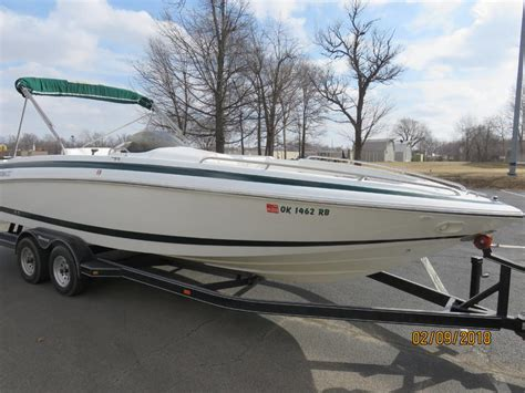 deck boats for sale oklahoma 1998 cobalt 25 ls deck boat powerboat for sale in oklahoma