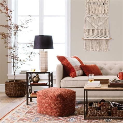 threshold living room fall living room furniture and decor collection threshold target