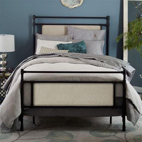 West Elm Bedroom Sale by Upholstered Metal Bed West Elm