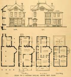 Queen Anne House Plans Historic by Old Queen Anne House Plans Vintage Victorian House Plans