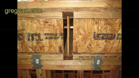 floor joist block tips house framing and building advice