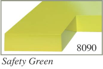 safety green color standard colors painted injection molded plastic