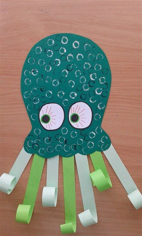 Octopus Paper Plate Craft - 500 best images about the sea themed ideas on