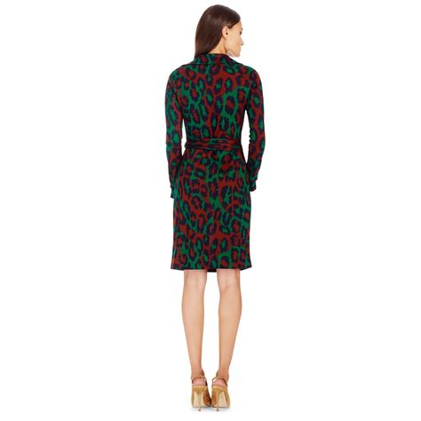 Bright Colored Wrap Dresses - diane furstenberg printed silk wrap dress lyst