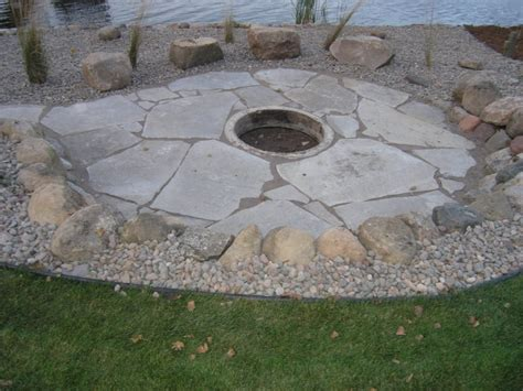 build pit limestone doit yourself backyard landscaping pictures pit