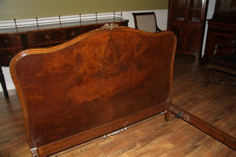 antique size bed frame antique walnut size bed frame by