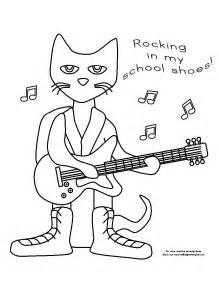 pete the cat shoe template free coloring pages of shoes for pete the cat