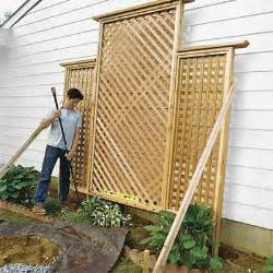 how to build a trellis install the trellis how to build a trellis this old house