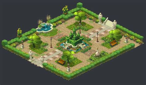 Gardenscapes New Acres Areas Artstation Gardenscapes New Acres Artdump Ilya