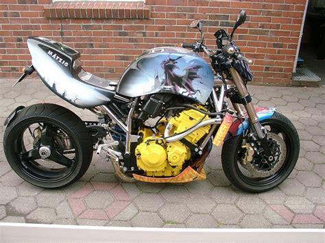 Motorrad Verkleidung Design by Airbrush Design Auf Fahrzeugen Customgraphic Airbrush