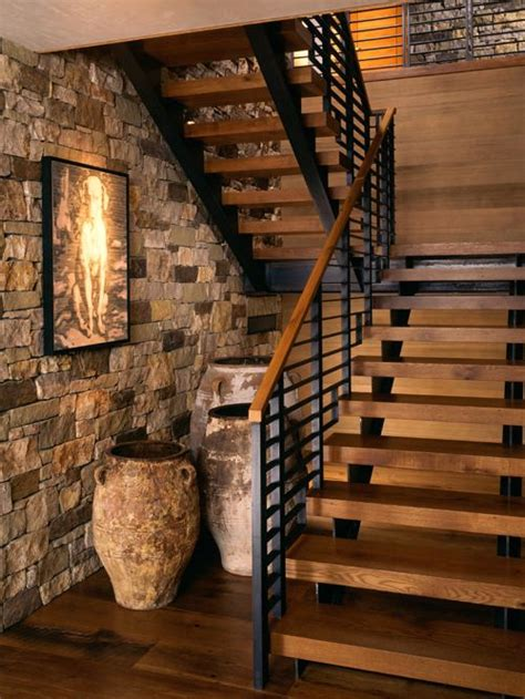5,723 Rustic Staircase Design Ideas & Remodel Pictures   Houzz